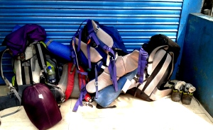 Our gear at Rudraprayag